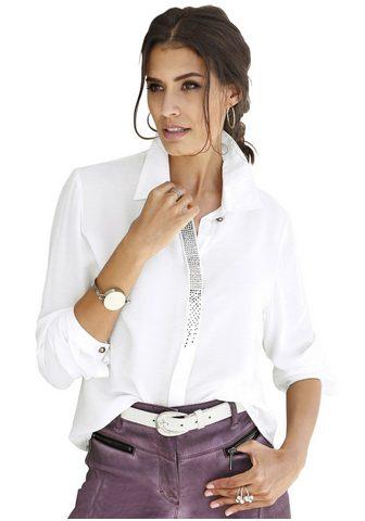 Блуза с сверкающий блестящие камешки
