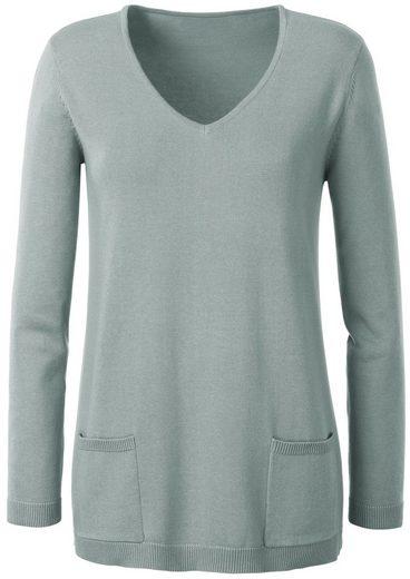 Ambria Pullover mit streckendem V-Ausschnitt