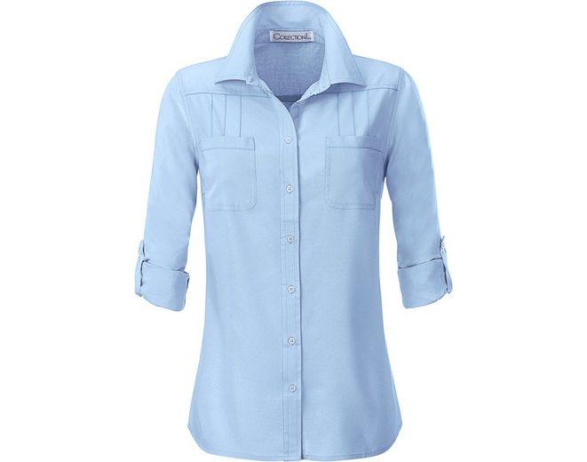 Bequem Online Perfekt Collection L. Bluse mit dekorativen Biesen iToTYl
