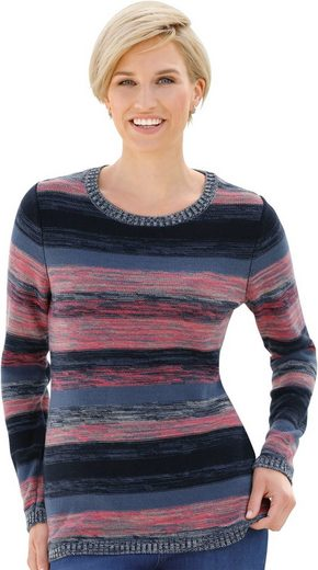 Collection L. Pullover In Striking Marigold Pattern