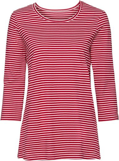 Classic Basics Shirt mit Ringel-Muster