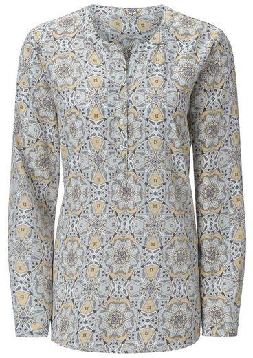 Ambria Bluse mit ansprechenden Muster