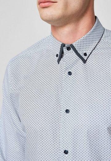 Next Hemd mit Doppelkragen
