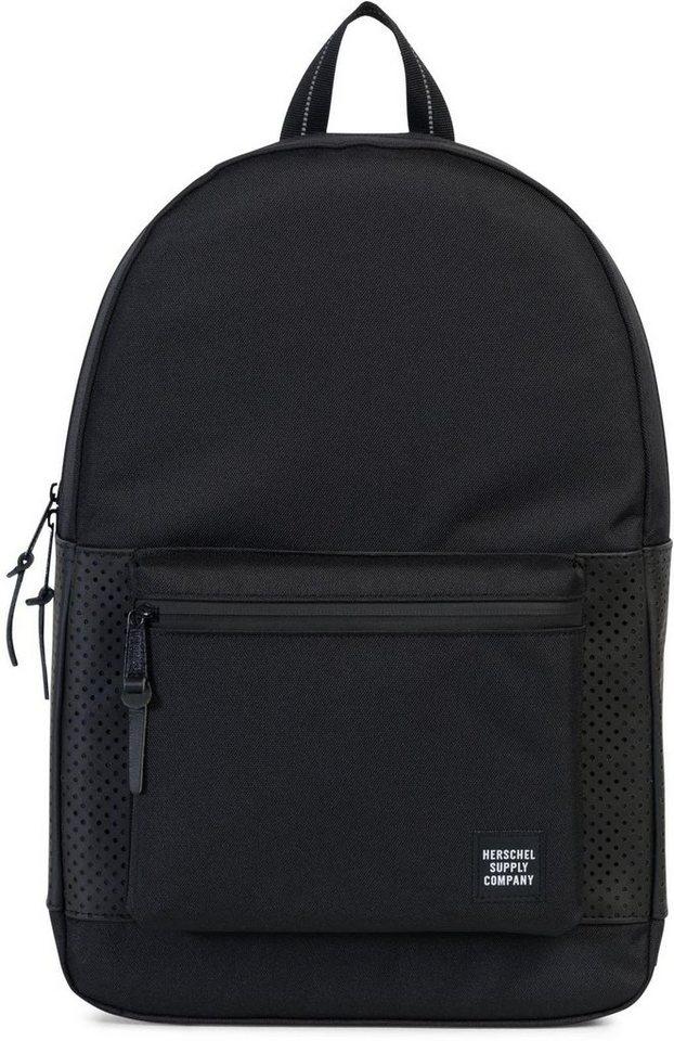 herschel rucksack mit laptopfach settlement black rubber online kaufen otto. Black Bedroom Furniture Sets. Home Design Ideas