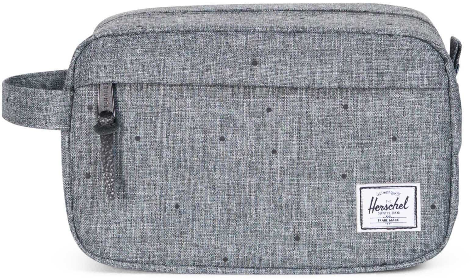 Herschel Kulturbeutel, »Chapter Travel Kit, Scattered Raven Crosshatch«