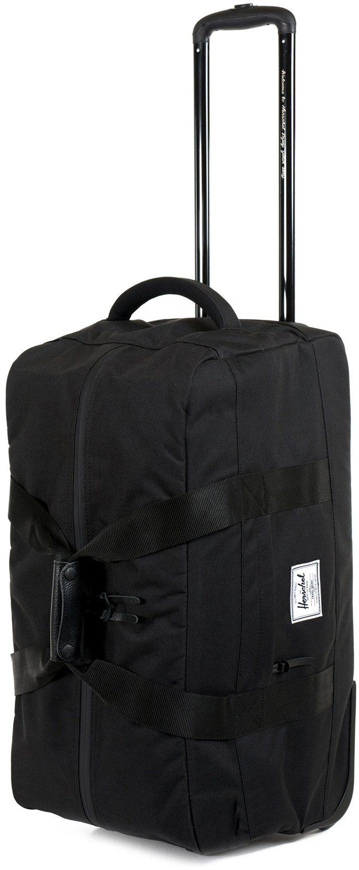 Herschel Trolley Reisetasche mit 2 Rollen, »Wheelie Outfitter, Black«