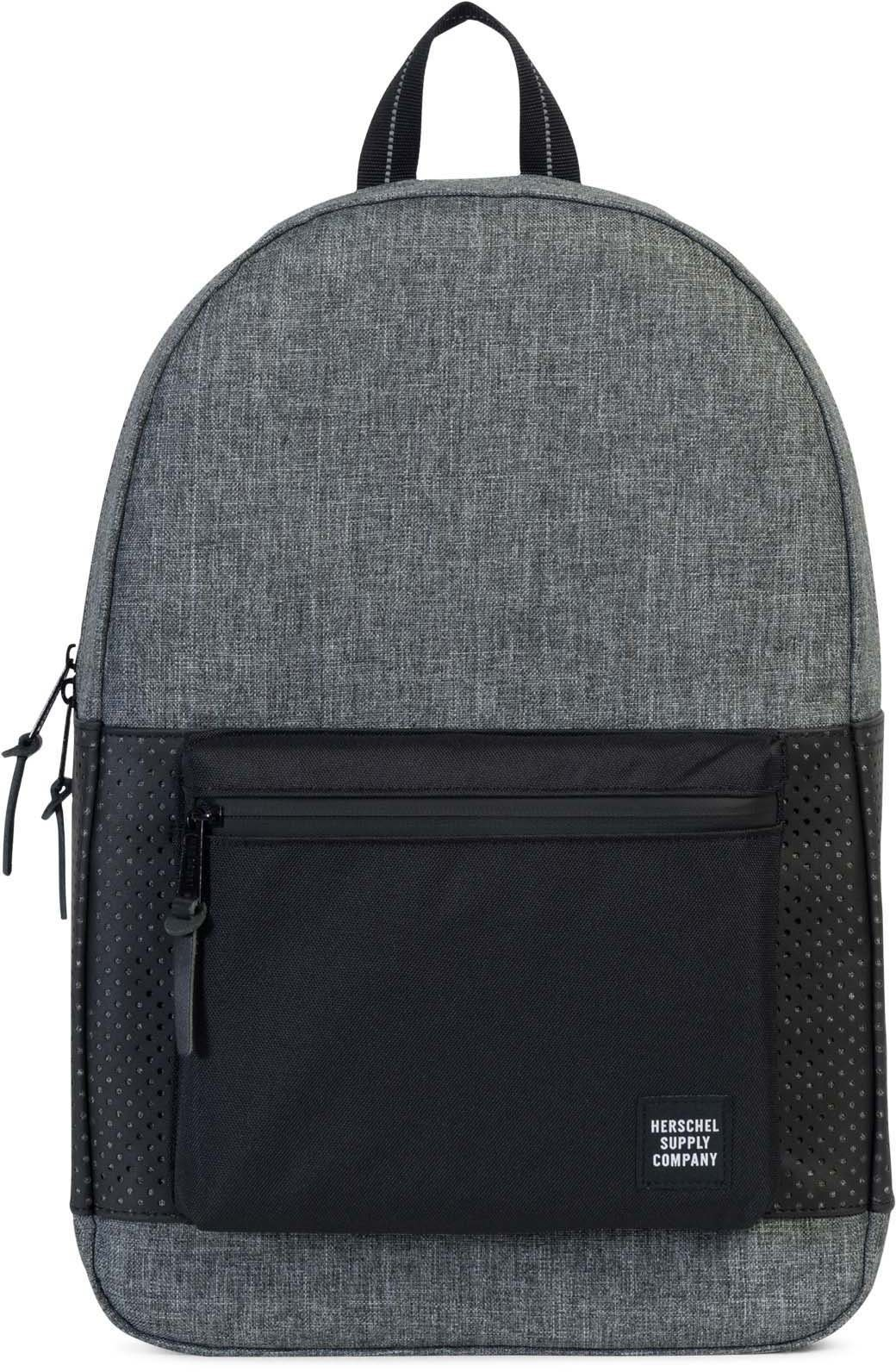 Herschel Rucksack mit Laptopfach, »Settlement, Raven Crosshatch/Black«