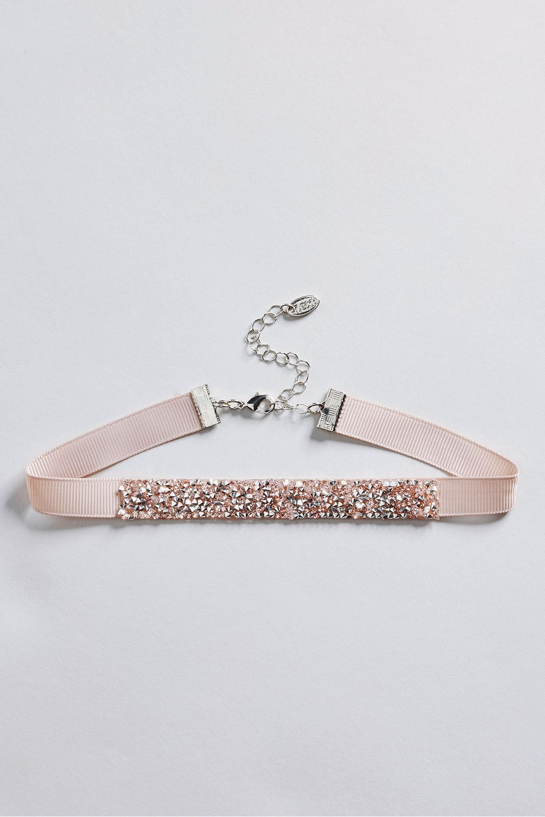 Next Choker aus Stoff in Glitzeroptik