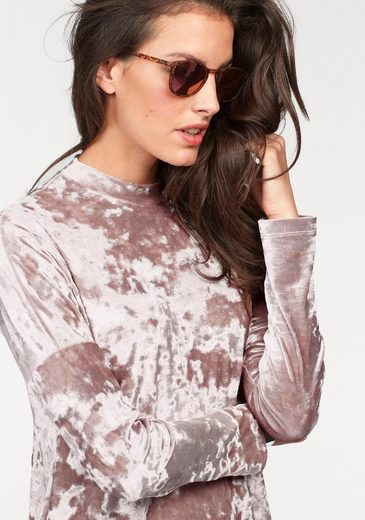 Aniston Jerseykleid, aus Pannesamt