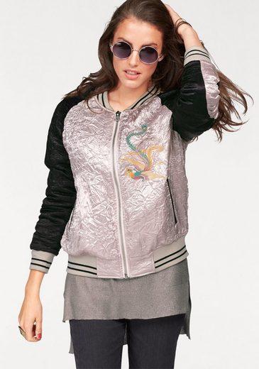 Aniston Bomberjacke, attraktiv bestickt