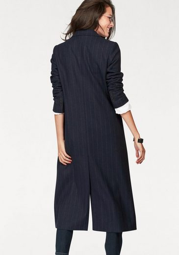 Aniston Wollmantel, mit Nadelstreifen