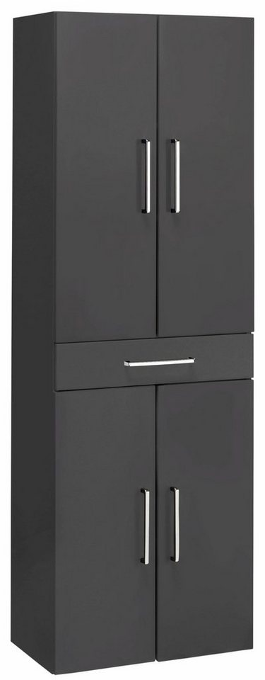 optifit hochschrank doha mit soft close funktion ma e. Black Bedroom Furniture Sets. Home Design Ideas
