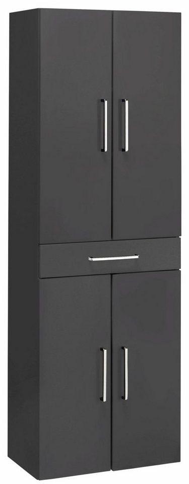 optifit hochschrank doha mit soft close funktion ma e. Black Bedroom Furniture Sets. Home Design Ideas