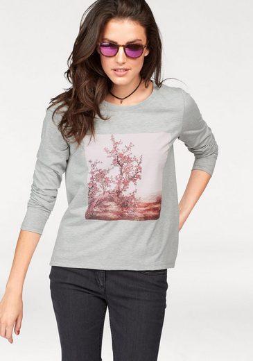 Aniston Langarmshirt, mit Pailletten