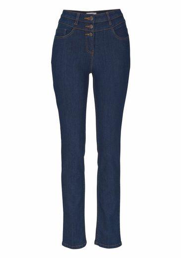 "Cheer High-waist-Jeans ""Carmen"", auch in Extra-Kurz Größe"