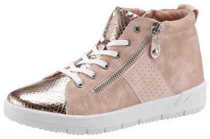 Tamaris Sneaker, im angesagten Metallic-Look