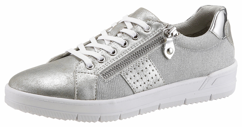 Tamaris Sneaker, im Metallic-Look online kaufen  silberfarben