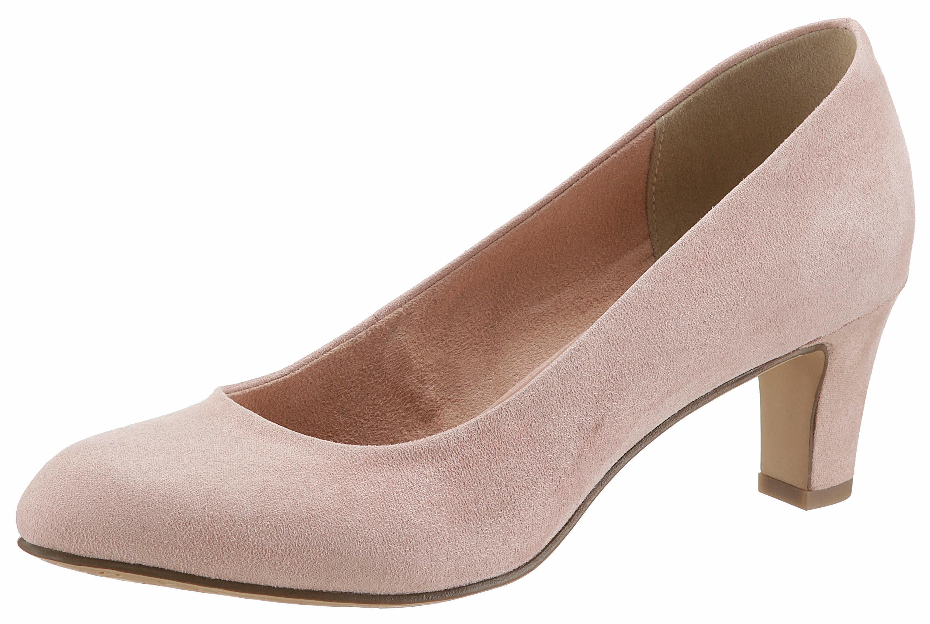 tamaris pumps rosa schleife