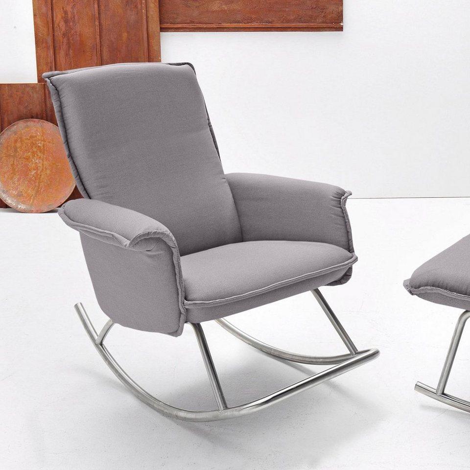 inosign design schaukelsessel mit edelstahlkufe otto. Black Bedroom Furniture Sets. Home Design Ideas