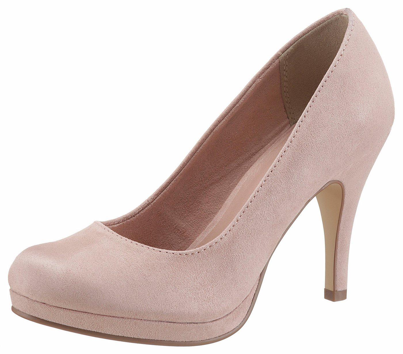 Tamaris »Taggia« High-Heel-Pumps mit Plateau | Schuhe > High Heels > High Heel Pumps | Rosa | Tamaris