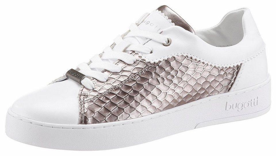 554165fca72cad bugatti Sneaker in Metallic-Optik online kaufen
