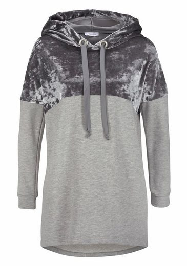 Aniston Kapuzensweatshirt, in Longform