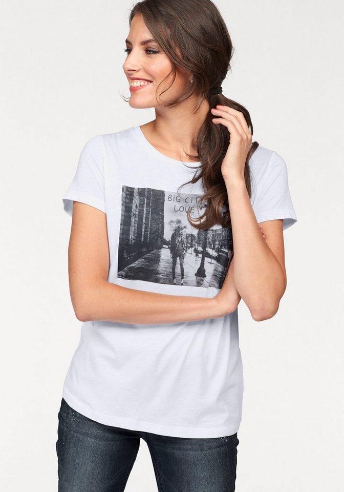 tamaris t shirt mit coolem druck online kaufen otto. Black Bedroom Furniture Sets. Home Design Ideas