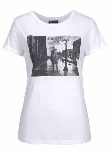 Tamaris T-shirt, With A Cool Print