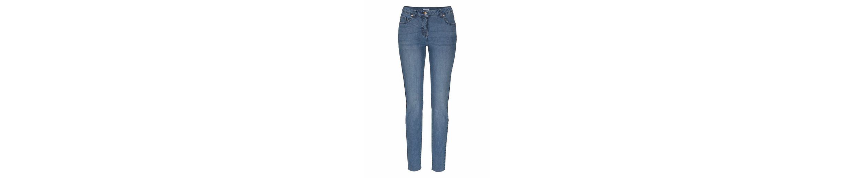 Aniston Skinny-fit-Jeans, mit kontrastfarbiger Waschung an den Seitennähten
