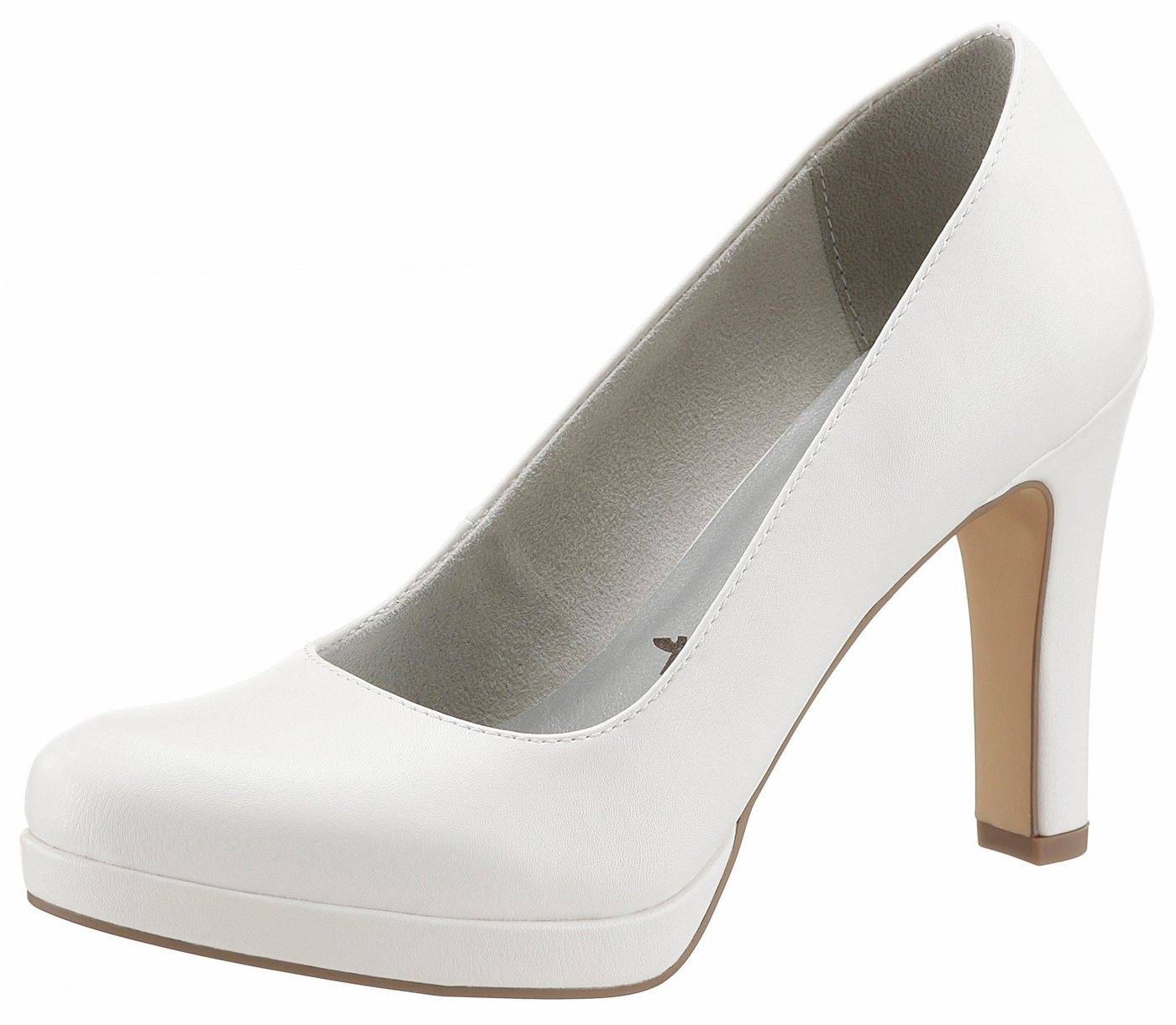 Tamaris High-Heel-Pumps in schlichtem Look | Schuhe > High Heels | Weiß | Tamaris
