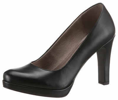 Tamaris Pumps »Tizi« | sheego ♥ Metallic Shoes | Metallic