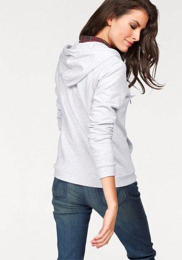 Aniston Kapuzensweatjacke, innen angerauht
