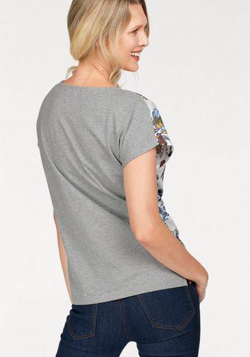 Cheer T-Shirt, mit Glitzernieten am Ausschnitt