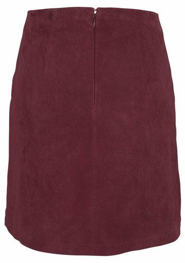 Tamaris Pencil Skirt, Decorative Press Studs With