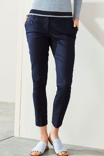 Next Skinny-Hose mit Knopfdetail