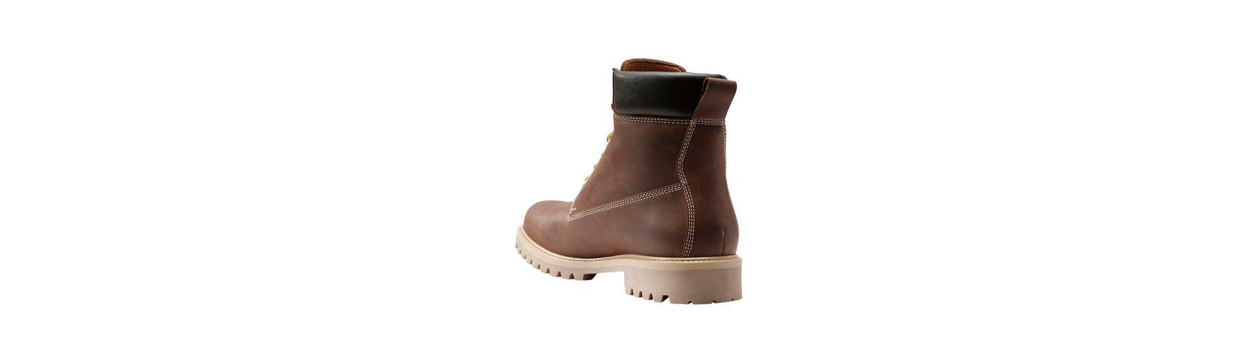 Next Schwerer Stiefel aus Leder mit Profilsohle Verkauf Heißen Verkauf Bestellen Günstig Online Billig Ausverkauf Store Spielraum Top-Qualität EKTUQI