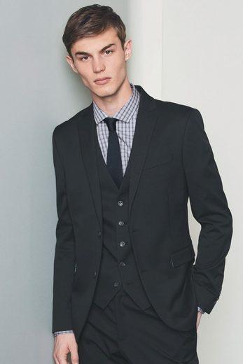 Next Baukasten-Anzug-Sakko aus Stretch-Twill