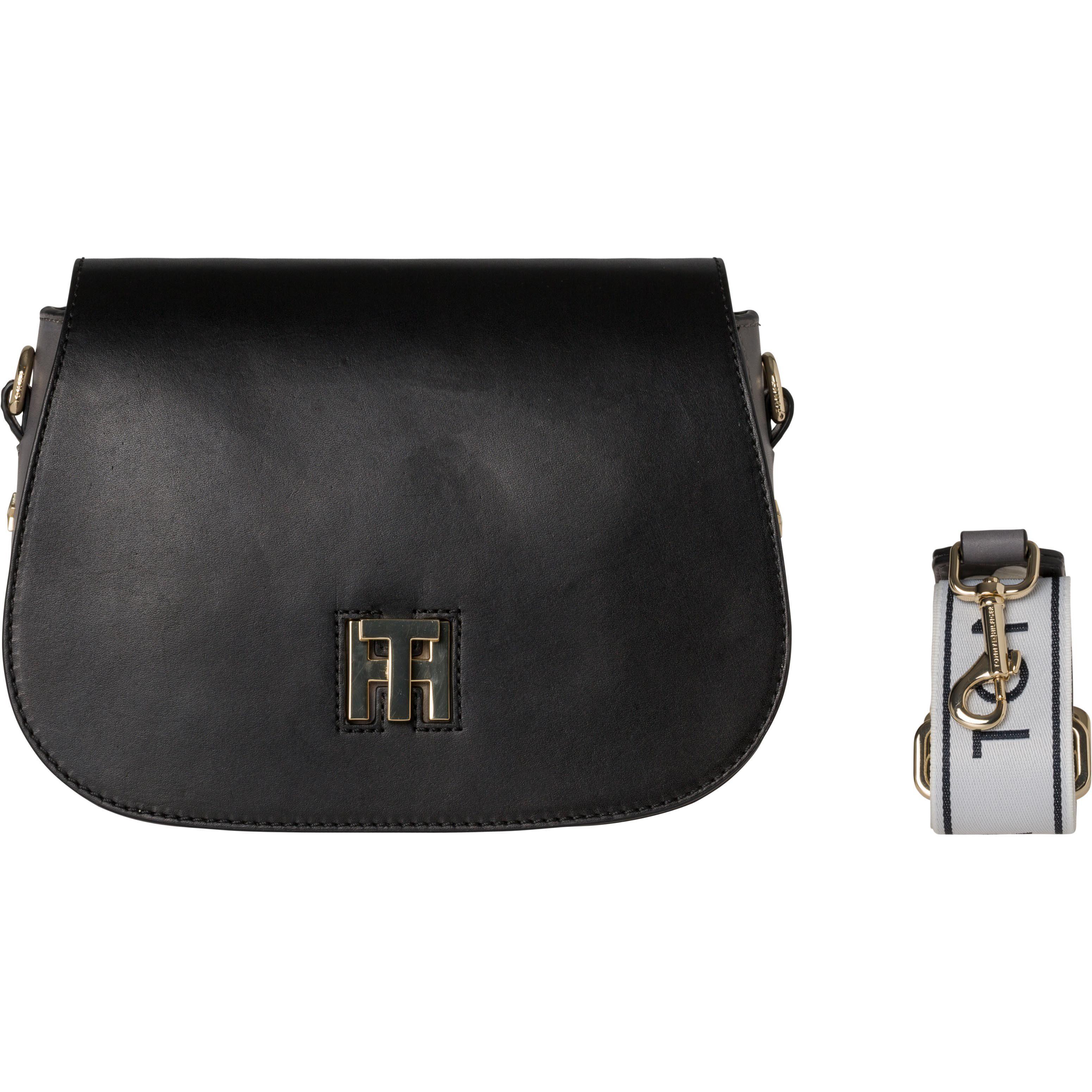 Tommy Hilfiger Handtaschen »TH TWIST SADDLE BAG LOGO«