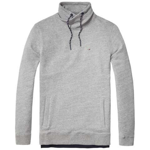Hilfiger Denim Sweatshirt »THDM WASHED FN HKNIT L/S 20« | Bekleidung > Shirts > Sonstige Shirts | Polyester | Hilfiger Denim