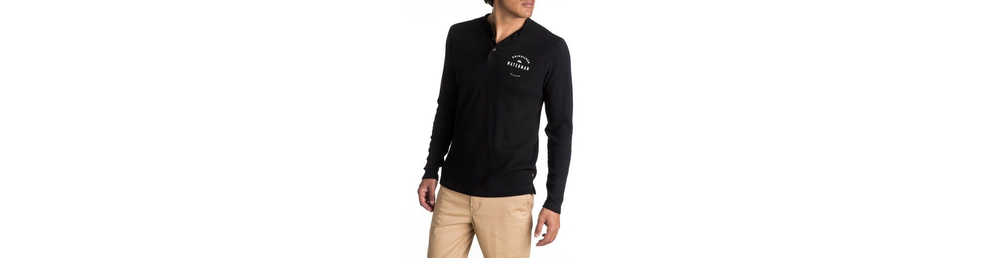 Quiksilver Thermo-Langarm-Henley T-Shirt Waterman Thermal Creeks Top-Qualität Verkauf Online 7lEuV