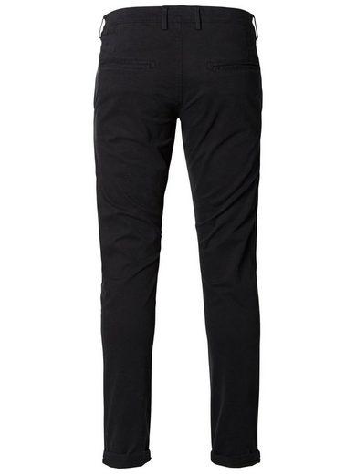 Selected Femme Skinny-Fit-Chinos mit schrägen Taschen