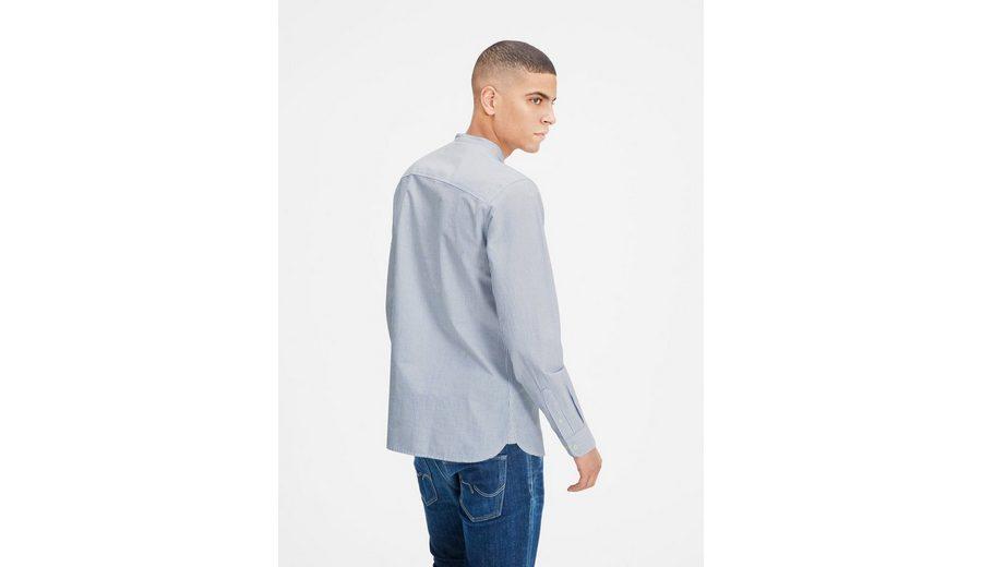 Bulk-Design Spielraum Heißen Verkauf Jack & Jones Stehkragen- Langarmhemd Mit Paypal Niedrigem Preis HvWSs2