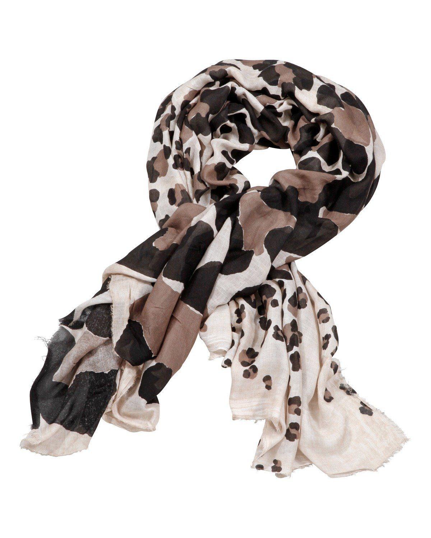 Codello Tuch mit Leoparden-Druck