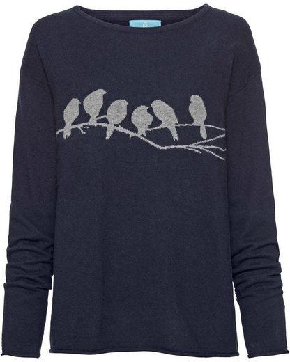Brigitte von Schönfels Pullover mit Vögelchen