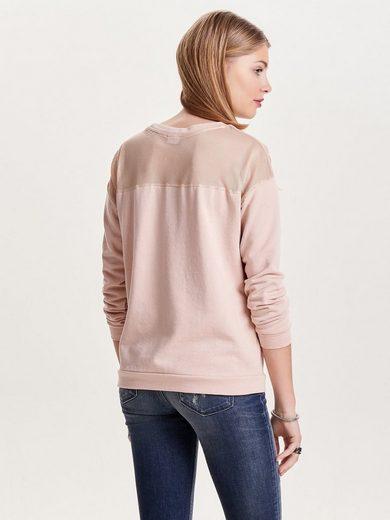 Jacqueline de Yong Printet Sweatshirt