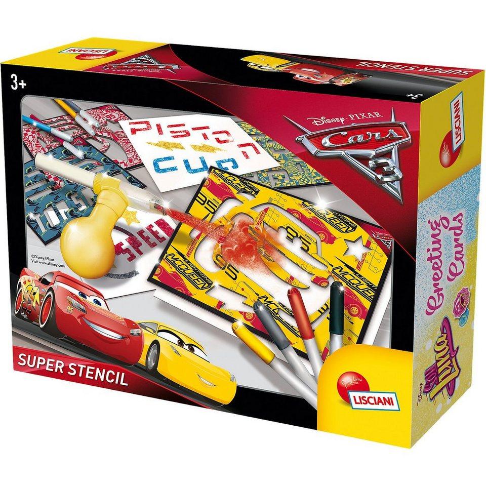 Lisciani Super Stencil - Cars 3 online kaufen