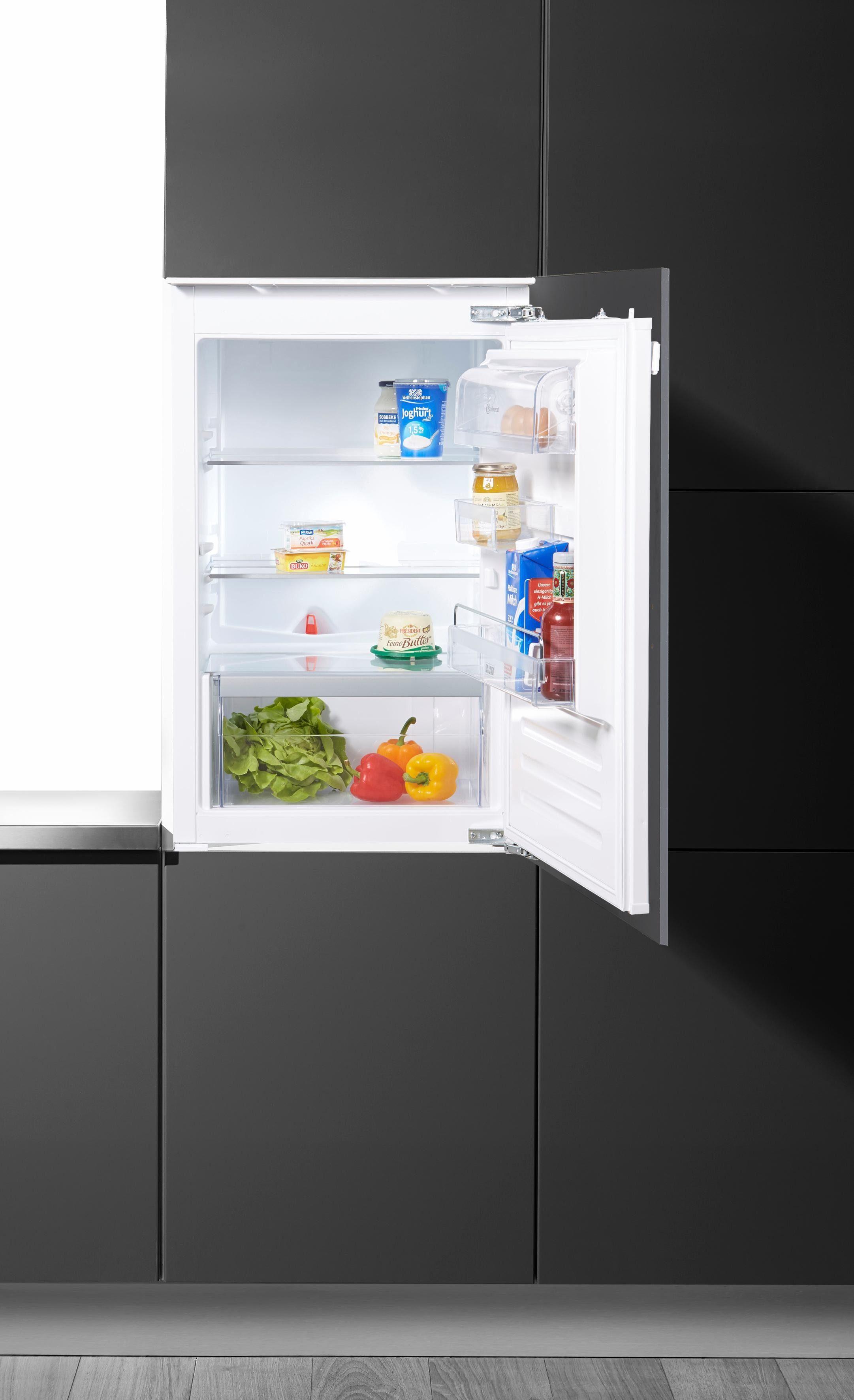 Bauknecht integrierbarerer Einbaukühlschrank KRIE 1000, A++, 87,3 cm hoch