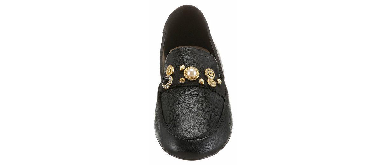 Nine West Loafer, mit goldfarbenen Schmuckelementen