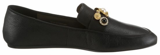 Nine West Loafer, mit goldfarbenen Schmuckelementen