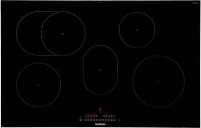 SIEMENS Induktions-Kochfeld von SCHOTT CERAN® EH875FFB1E, mit Warmhaltezone